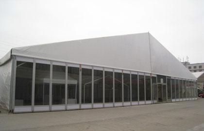 20m hard wall tent