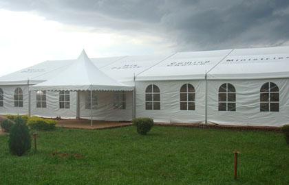 15m church tent