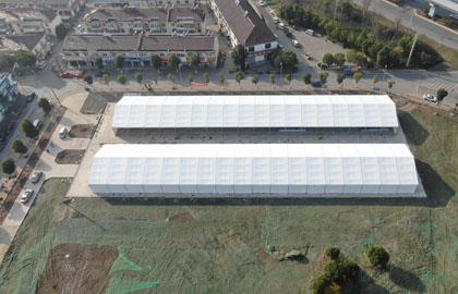 15x90m warehouse tent